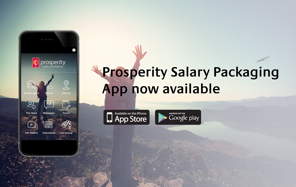 Prosperity Salary Packaging at your fingertips Image